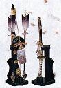 端午の節句 出世鋳造兜■ 瑞鳥弓太刀 (小) 11号■【高岡銅器】
