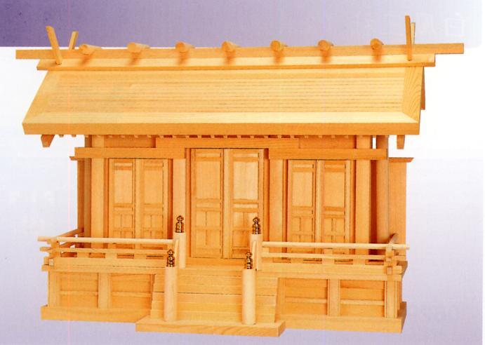 お宮 神棚 神殿■ 鳳凰 中 ■特撰神殿【日本製】:仏具徳