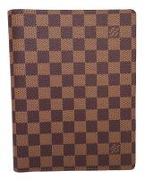 未使用ルイヴィトンダミエ手帳カバーアジェンダビューローR20702ノートカバー男女兼用