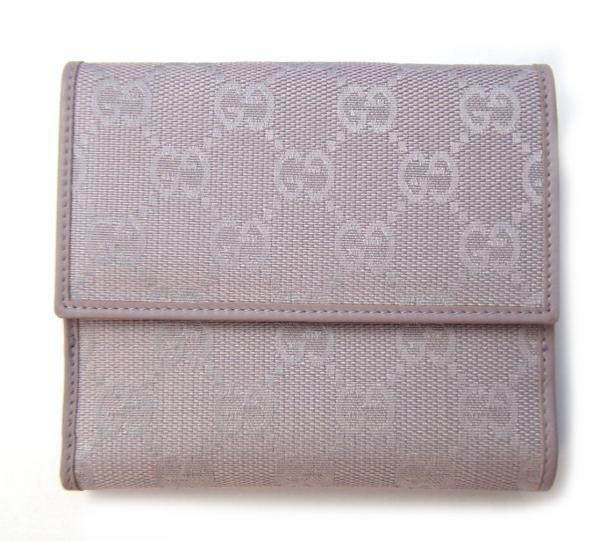49778833684 Gucci purse GG two-fold wallet canvas Purple (K2212