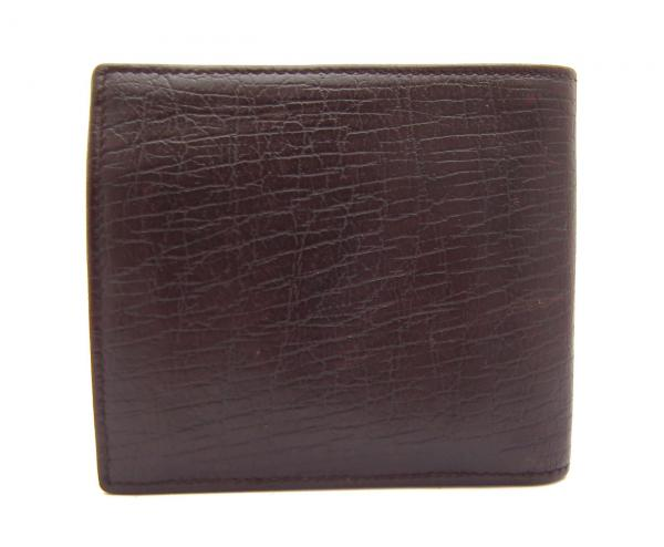 377007a061c81 Gucci leather wallet bi-fold with interlocking G Brown 115