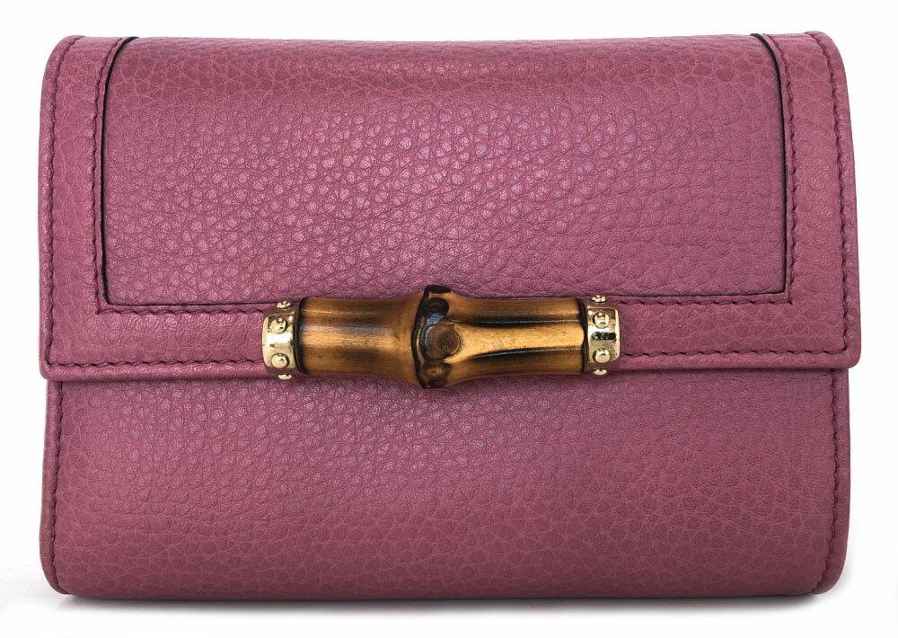 df7e072c3a7d ブランド:グッチ商品名:バンブー 二つ折り財布ライン:バンブー型番:257017 原産国:ITALY 付属品:なしサイズ:約W14.5×H11×D4cm