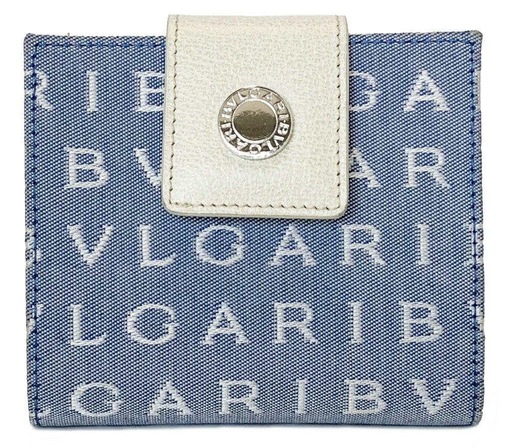 32c072b8ccf6 ブランド:ブルガリ商品名:ロゴマニア 二つ折り 財布ライン:ロゴマニア原産国:ITYALY 付属品:なしサイズ:約W10×H8.5×D2.5cm  カラー:水色×アイボリー素材: ...