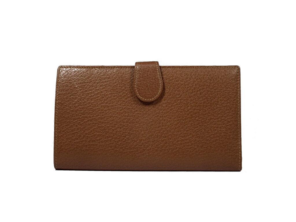 f86cecc45e7d ブランド:GUCCI グッチ 商品名:財布 付属品:箱 サイズ:約W19.5×H10×D1.5cm カラー:ブラウン 素材:レザー 仕様:ホック式開閉  ?