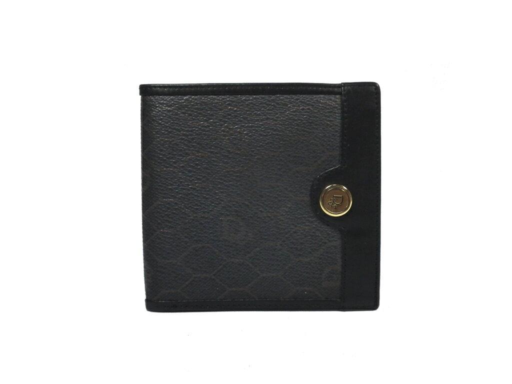 09cc4afb20a0 付属品:なし サイズ:約W10.5×H10×D1.0cm カラー:ブラック系 素材:PVCレザー 仕様:二つ折り開閉  ?ホック式小銭入れ×1、札入れ×2、カード入れ×2