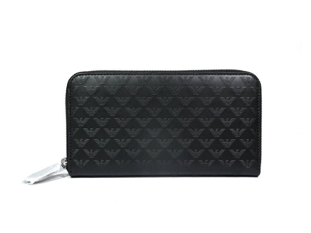 71a223e68e2a 商品名:財布 付属品:箱 サイズ:約W18.5×H10×D2.5cm カラー:ブラック 素材:型押しレザー 仕様:ファスナー式開閉 ?札入れ×2、 ファスナー式小銭入れ×1、カード ...