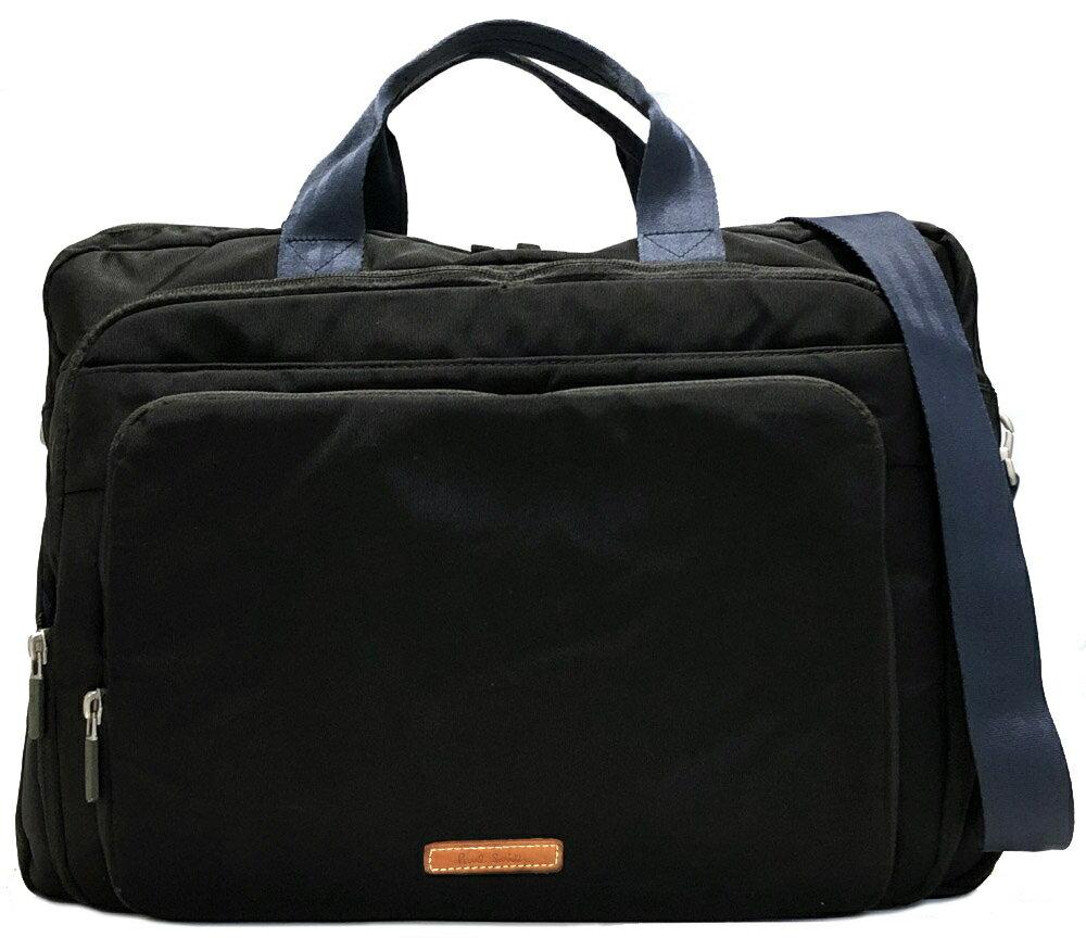 87ac53c03769 ブランド:ポールスミス商品名:3WAY バッグ付属品:ショルダーストラップサイズ:約W44×H33×D10cm ショルダー最長約130cm カラー: ブラック×ネイビー素材:ナイロン ...