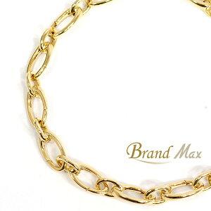 【BrandMax】ティファニー/750YG リンク クラスプ ブレスレット/美品【中古】