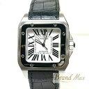 カルティエ 腕時計 サントス100LM メンズ オートマ W20073X8【中古】
