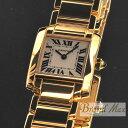 カルティエ 腕時計 YG タンクフランセーズSM レディース W50002N2【中古】