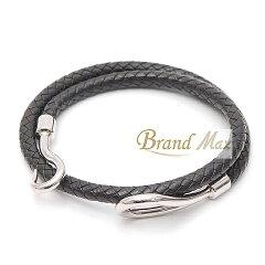 【BrandMax】エルメス/ジャンボ/ブレス/チョーカー/編み込み/A品