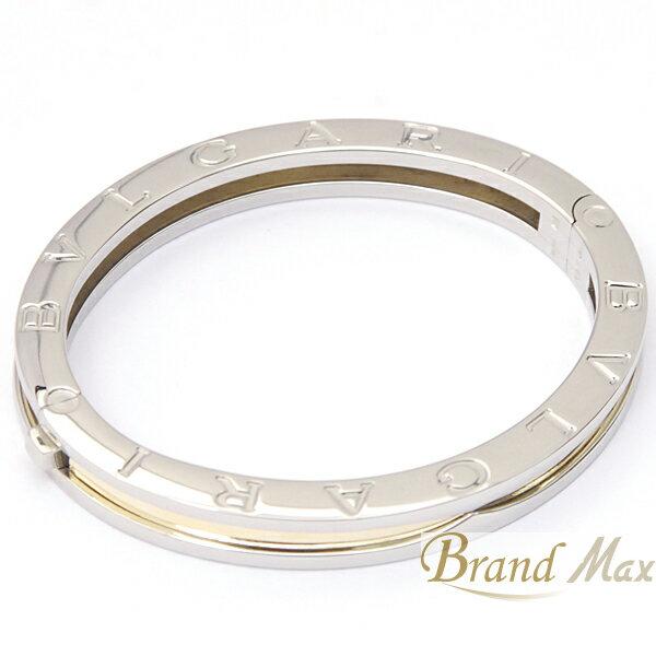 ブルガリ/BVLGARI/SS×750YG/B-zero1/バングルブレスレット/仕上済/A級品【中古】:BrandMax