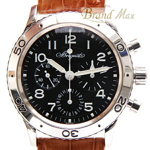 【BrandMax】ブレゲ/アエロナバル/タイプXX/3800/クロノグラフ/A品【中古】