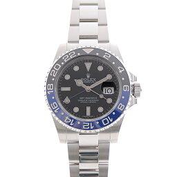 ロレックス ROLEX 116710BLNR GMTマスター2 ランダム 黒×青ベゼル ポリッシュ済【中古】