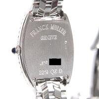 フランクミュラー FRANCK MULLER トノーカーベックス インターミディエ 2重ダイヤ 750WG ホワイトゴールド【中古】
