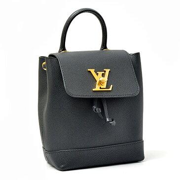 ルイヴィトン Louis Vuitton ロックミー バックパック ミニ レディース 2WAY リュック カーフ ノワール M54573【中古】