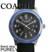 コーチ COACH 時計 メンズ 腕時計 ステンレス レザー ベルト ウォッチ 腕時計 レザーバンド アウトレット W5015 F3A 黒/青 コーチ COACH メンズ レディース MMM