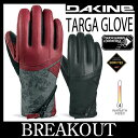 15-16 DAKINE ダカイン TARGA GLOVE グローブ ゴアテックス 手袋 レディース スノーボード メール便送料無料