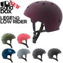 即出荷 SANDBOX / サンドボックスヘルメット LEGEND LOW RIDER ローライダー ウェイク スノーボード スケート スキー メンズ レディース キッズ プロテクター 19-20の商品画像