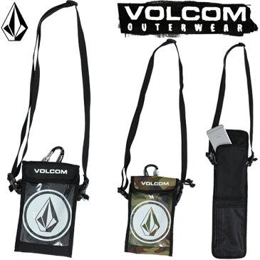 VOLCOM / ボルコム VCM MULTI PASS CASE パスケース チケットホルダー カラビナ付き 小物入れ スノーボード スキー メール便対応