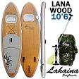 SUP サップ インフレータブルパドルボード ラハイナ / LAHAINA SUP 10'6 ラナ/LANA WOOD 窓付き ウィンドウ スタンドアップパドルボード