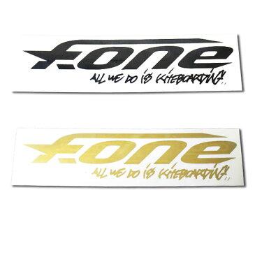F-ONE エフワン ステッカー パドルボード カイトボード 大 メール便 290円