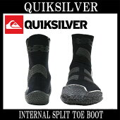 QUIKSILVER/�����å�����С�INTERNALSPLITTOEBOOT3mm�����ե֡��ĥ����ե����ɴ��к�