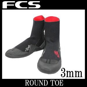 FCSエフシーエスサーフブーツ3mmROUNDTOE冬用