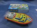 ブリキ製 ポンポン丸M ブリキ玩具 駄菓子屋 日本製【新品】昔ながらのおもちゃ