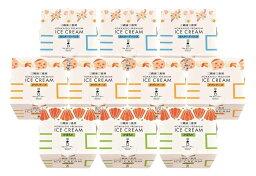 【送料込】三國 三國推奨 北海道プレミアムアイス 3種セット(10個)
