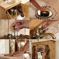 カントリー家具オーダー家具手作り家具洗面台ドレッサーCOUNTRY・ウォッシュスタンド・タイル(洗面台W900)rfmwct