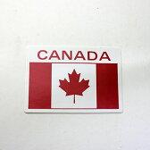 カナダ 国旗 カナダフラッグ ステッカー シール CANADA 90 x 63mm
