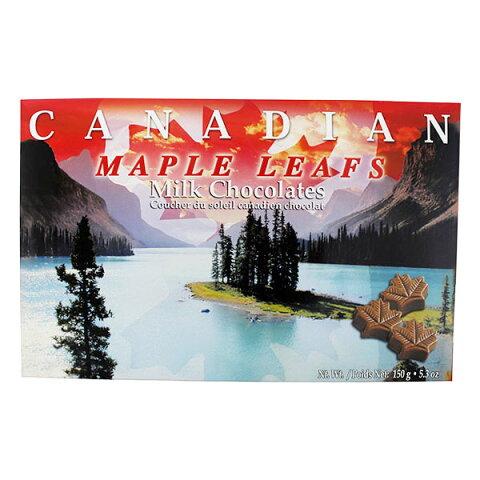 カナディアン サンセットメープルチョコレート 150g (30粒入り) 激安 カナダ土産 グルメカナディアーナ カナダ旅行 お土産袋サービス 日本語表示シールも剥がし