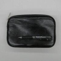 集金かばん25628黒日本製21×13×3cm