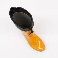 ワークマスタータフテックスパッツOGB025ビビットイエロー長靴アキレス社