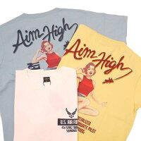 AVIREXアヴィレックス(アビレックス)6113297ピンナップガールアイムハイTシャツAIMHIGHT-SHIRT半袖Tシャツ