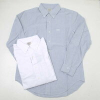AVIREXアビレックス6195129デイリーオックスフォードボタンダウンシャツ長袖シャツ