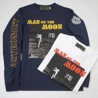 AVIREXアヴィレックス(アビレックス)6103521MOONLANDINGT-SHIRT/HANGAR2T-SHIRTHANGAR2長袖Tシャツ