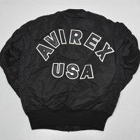 AVIREXアヴィレックス(アビレックス)6102118MA-1LOGOロゴma1