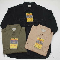 BuzzRicksonsバズリクソンズBR26081ヘリンボーン長袖ワークシャツ
