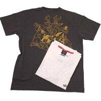 AlphaアルファTC1461-3ALPHA×LOONEYTUNESルーニーテューンズバックプリントポケット付半袖Tシャツ