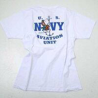 BuzzRicksonsバズリクソンズBR78151BUZZRICKSON'S×PEANUTSU.SNAVYAVIATIONUNITプリント半袖Tシャツ