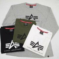 AlphaアルファTC1430-0アルファAマーク長袖Tシャツ