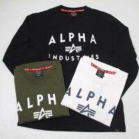 AlphaアルファTC1430-10ALPHAINDUSTRIES長袖Tシャツ