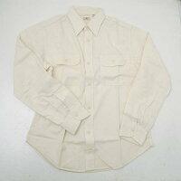 SUGARCANEシュガーケーンSC27851-401シャンブレ長袖ワークシャツオフホワイト