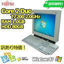 【訳あり】【FUJITSU 一体型 15型/1.0GB/80GB/CD/XP】【送料無料】【デスクトップパソコン】【あす楽_年中無休】【smtg0401】【RCP】【中古】【訳あり】10P03Dec16