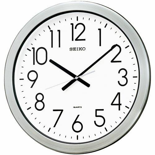 SEIKO掛け時計 セイコー掛け時計 オフィス時計 防湿・防塵・大型掛け時計 SEIKO時計 KH407S 【楽ギフ_包装】【楽ギフ_のし】【楽ギフ_のし宛書】【楽ギフ_メッセ入力】【楽ギフ_名入れ】