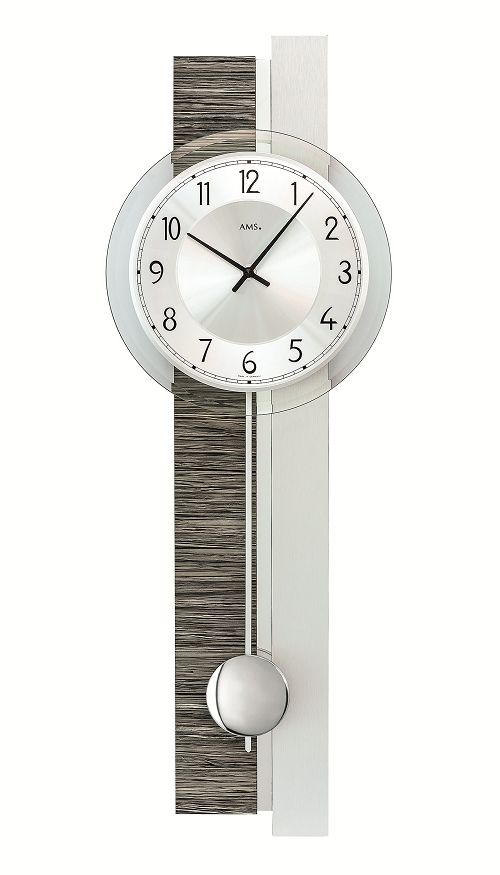 斬新デザインが目を引きます! AMS(アームス)振り子時計 7439 AMS振り子時計:インテリア雑貨 セシセラ