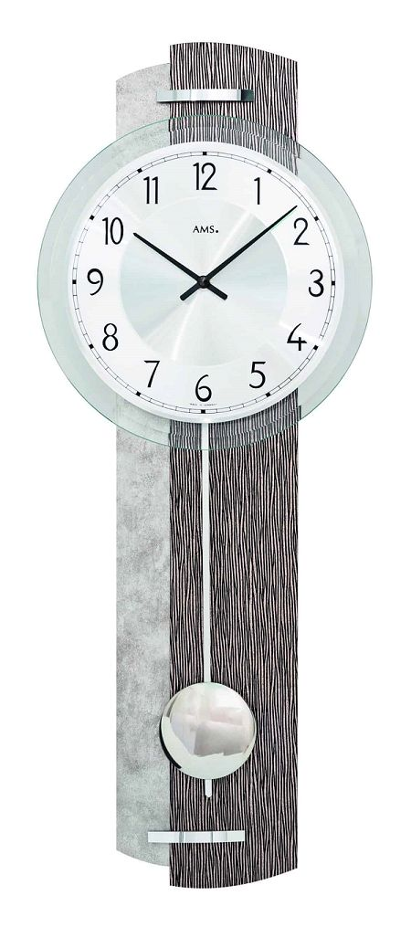 斬新デザインが目を引きます! AMS(アームス)振り子時計 7463 AMS振り子時計