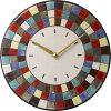 陶器の温かさとイタリアンアートに溢れる魅力!アントニオ・ザッカレラAntonioZaccarella陶器掛け時計ZC913-003名入れ